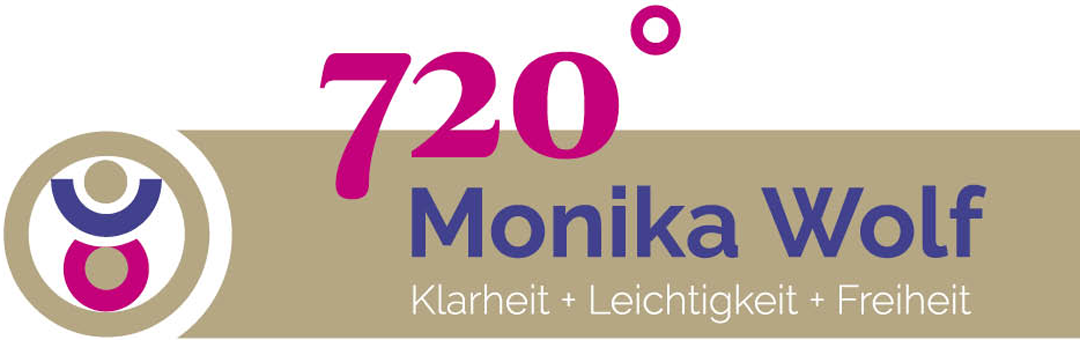 Logo Monika Wolf 720° Marketing